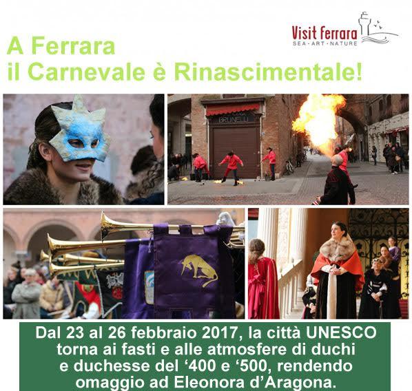 A Ferrara il Carnevale è Rinascimentale