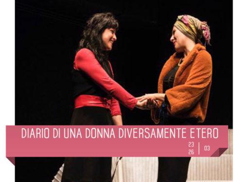 Diario di una donna diversamente etero in scena la Teatro Delfino