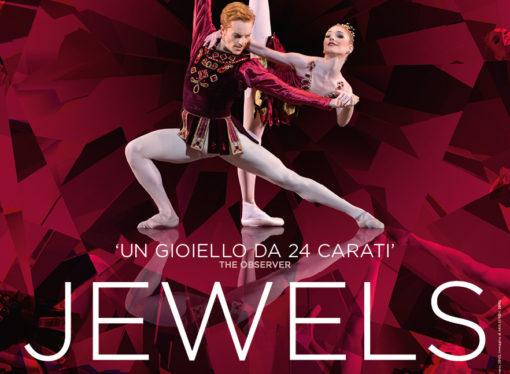 Jewels,  dal palcoscenico della Royal Opera House in diretta via satellite nei cinema italiani