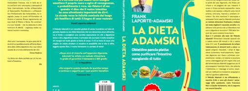 Dal 23 Marzo 2017  in libreria La dieta Adamski, il nuovo libro di Frank Laporte Adamski