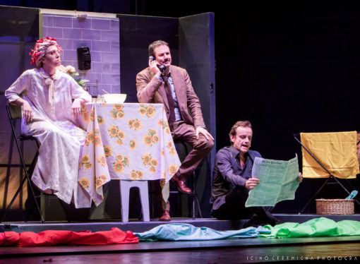 Al Teatro Manzoni di Milano va in scena Serial Killer per signora, un divertente spettacolo a metà tra comico e poliziesco