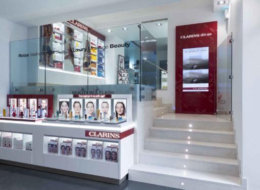 Apre Virgin Active Collection Milano Corso Como,  la prima Clarins Skin Spa in Italia