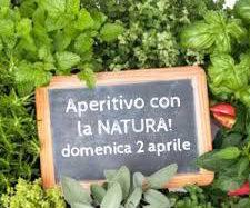 Domenica 2 aprile  da Agribrianza  l'Aperitivo  con la Natura  festeggia l'arrivo della primavera