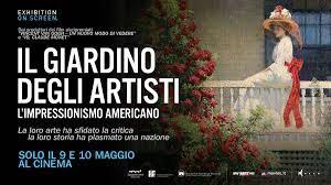 Al cinema il docu-film Il Giardino degli Artisti. L'Impressionismo Americano