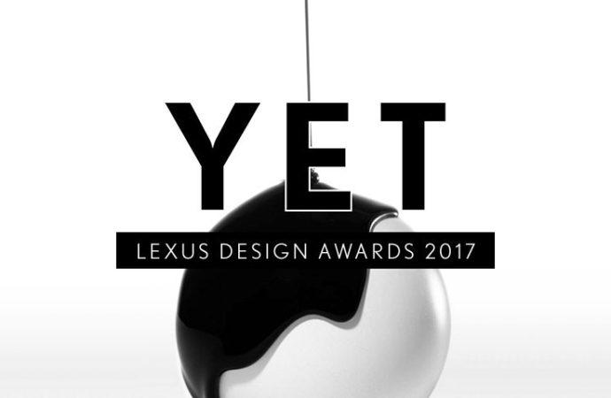 Quattro i finalisti selezionati per il prestigioso Lexus  Design Award 2017