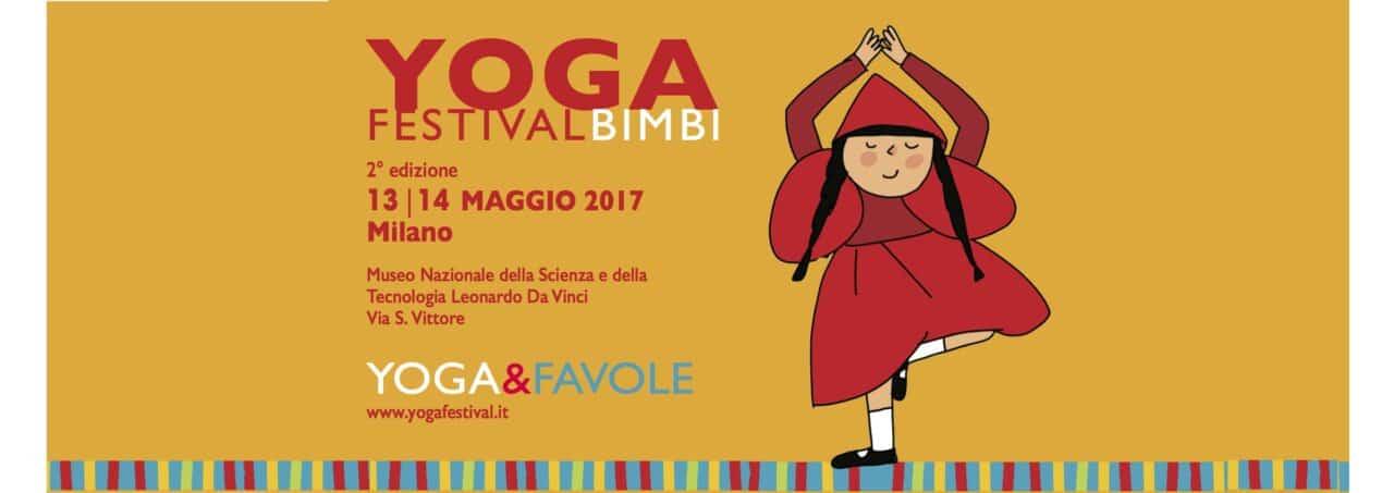 Yoga per i bimbi al Yogafestival Bimbi a maggio a Milano
