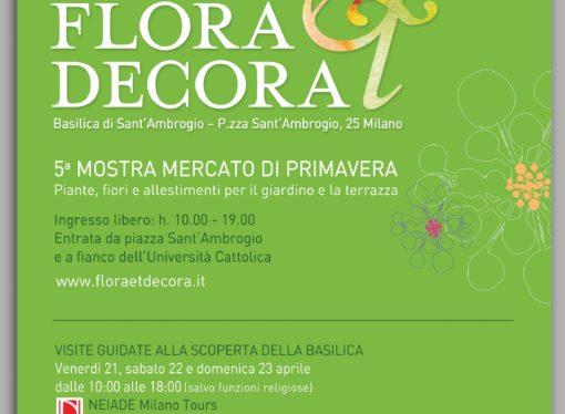 Milano: quinta edizione di Flora et Decora