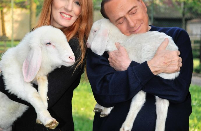 La Pasqua veg di Berlusconi