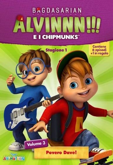 DVD Alvinnn!!!ei Chipmunks