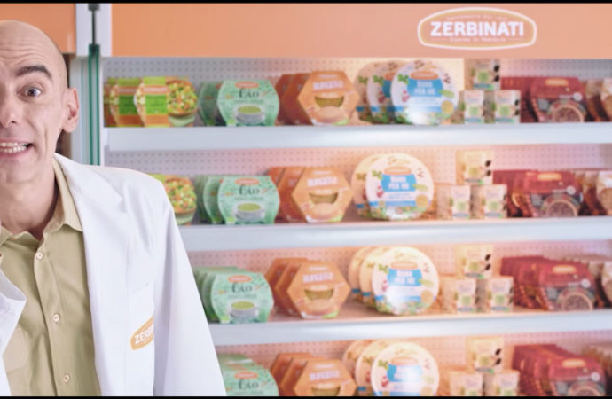 Zerbinati lancia la sua prima campagna di comunicazione sulle reti Tv