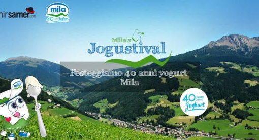 Jogustival nel cuore dell'Alto Adige con Yogurt Mila: a pochi passi da Bolzano