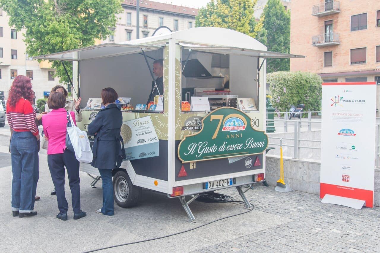 Food Truck Campo dei Fiori