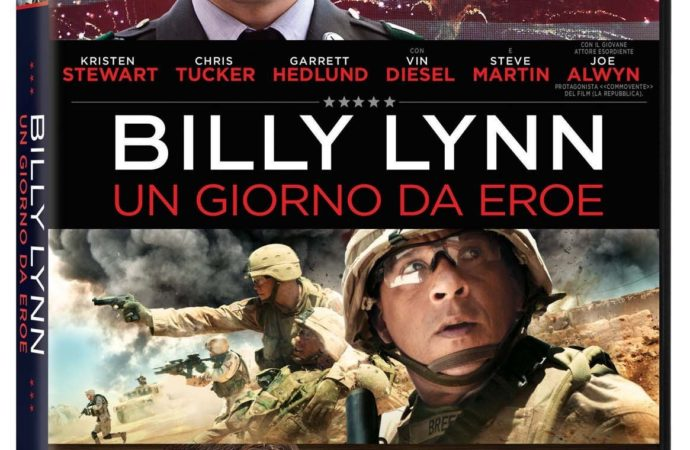 Billy Lynn: un giorno da eroe, il film ora in DVD, Blu-ray™ e 4K Ultra HD™