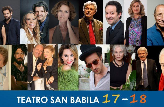 La Stagione  di prosa 2017/18 del Teatro San Babila
