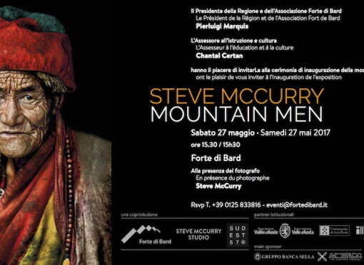 La mostra fotografica Steve McCurry. Mountain Men fino al 26 novembre 2017 al Forte di Bard