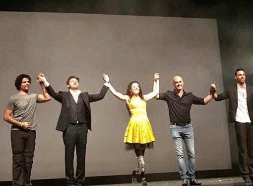 Al Teatro Manzoni di Milano emozionante spettacolo di Giusy Versace
