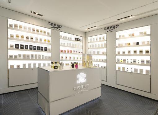 Le fragranze Creed a laRinascente di Milano