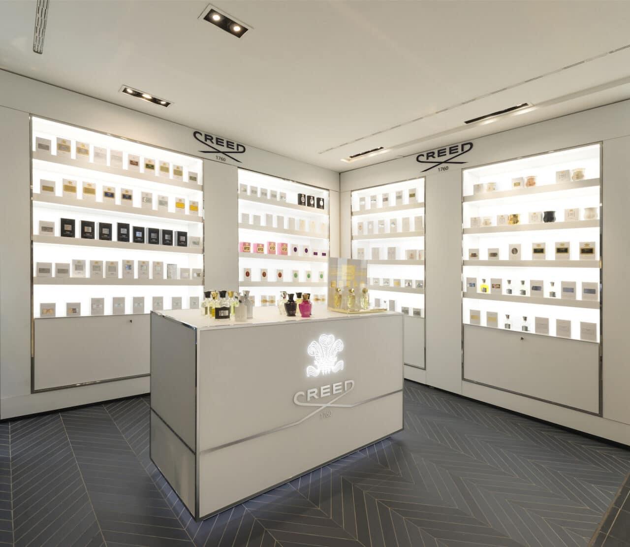 fragranze Creed a laRinascente di Milano