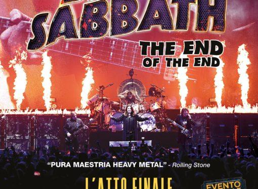 Solo il 4 ottobre al cinema l'ultimo spettacolo dei Black Sabbath