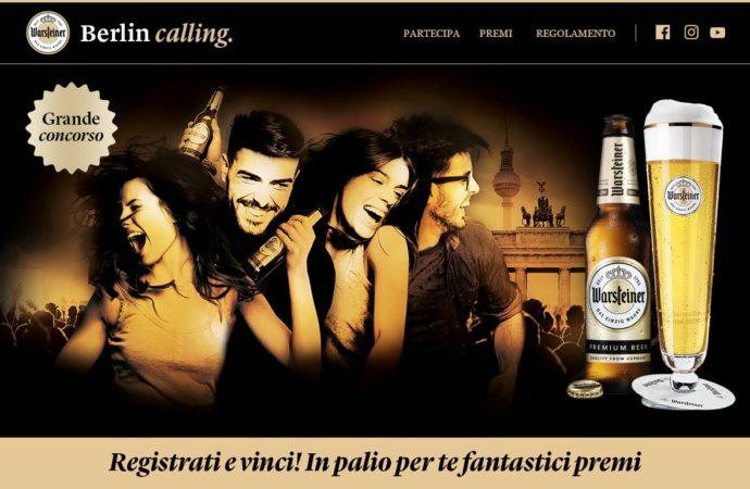 Grande concorso Warsteiner Berlin Calling, per vincere voli e weekend a Berlino