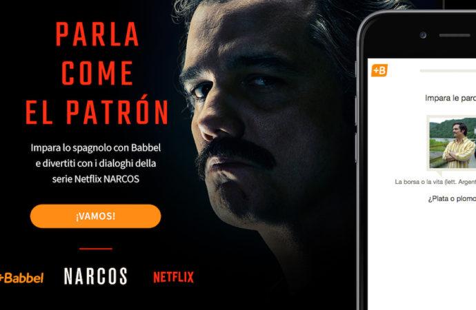 Babbel e Netflix – Parla lo spagnolo come el Patron –  vince con due Leoni a Cannes