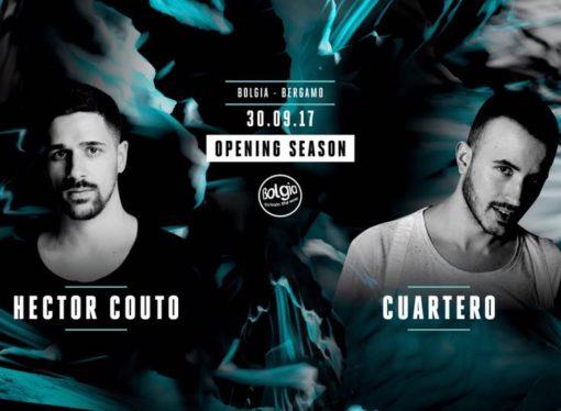 30/09 Hector Couto & Cuartero @ Bolgia – Bergamo / Opening