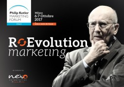 Philip Kotler Marketing Forum 2017 sabato 7 ottobre allo Iulm di Milano