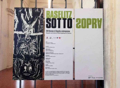 Mostra di Georg Baselitz a Palazzo dei Pio di Carpi