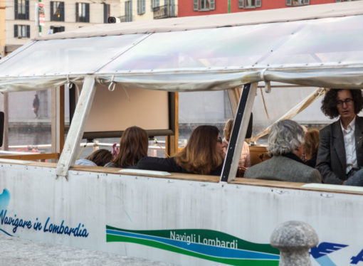 Navigando sulla Darsena ritorna il Cinema Bianchini