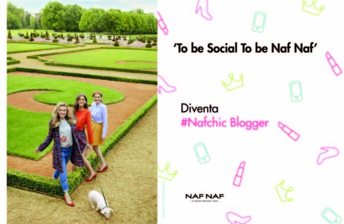 Naf Naf lancia  il concorso 'To be Social To be Naf Naf'