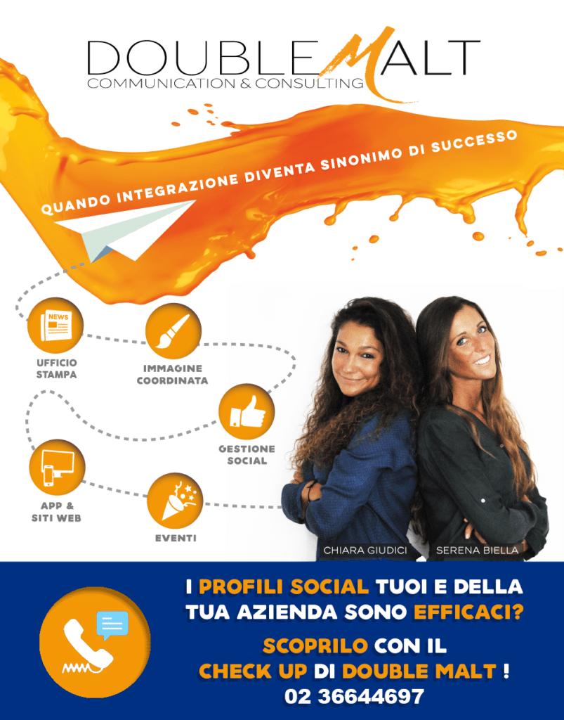 I profili Social tuoi e della tua azienda sono efficaci? Scoprilo con il check-up di Double Malt