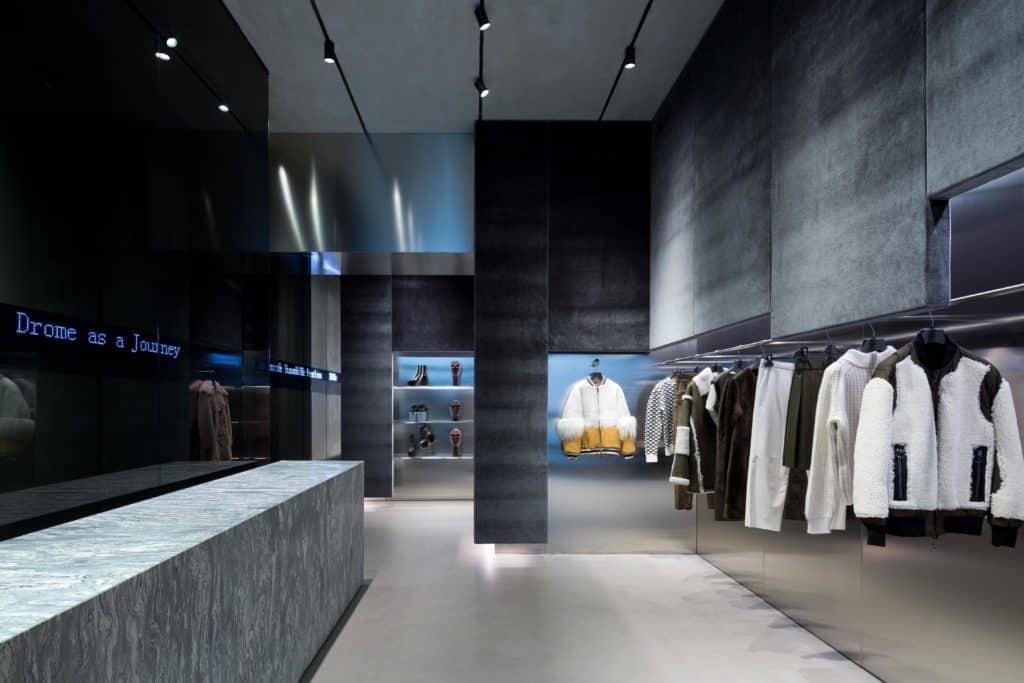 Apertura prima  boutique DROMe a Milano