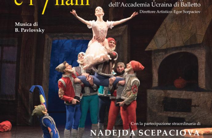 Al Teatro degli Arcimboldi torna  Biancaneve e i sette nani con l'Accademia Ucraina di Balletto
