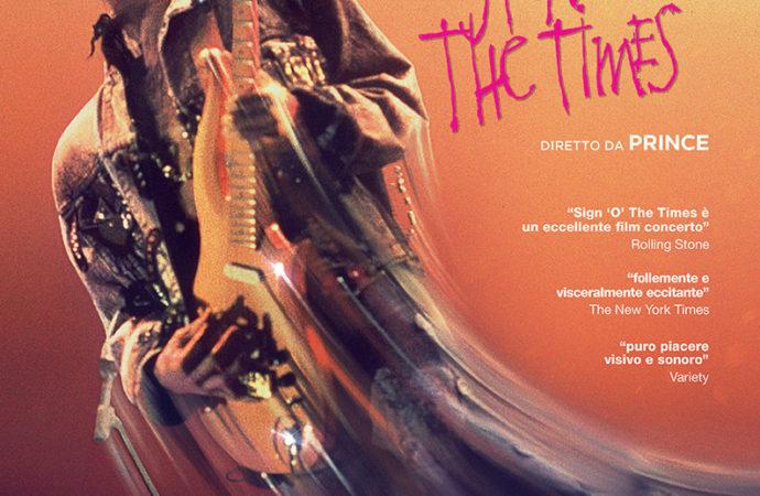 """Prince  """"Sign o' the times"""", il  film concerto che commemora la famosa star della musica mondiale"""