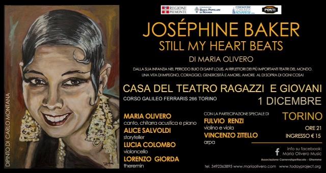 Alla Casa del Teatro Ragazzi e Giovani di Torino Still My Heart Beats, la storia di Joséphine Baker