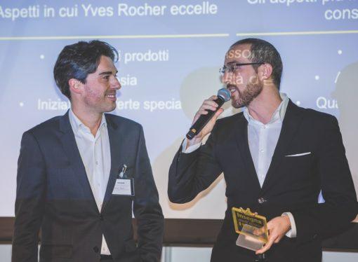 Insegna dell'Anno Italia a Yves Rocher