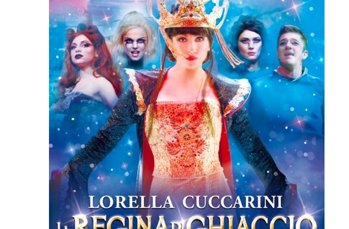 Al Teatro  Arcimboldi Lorella Cuccarini è La Regina di Ghiaccio