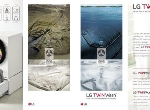 TWINWashTM di LG, la lavatrice che si fa in due!