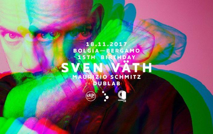 18/11 Sven Väth fa ballare il Bolgia di Bergamo