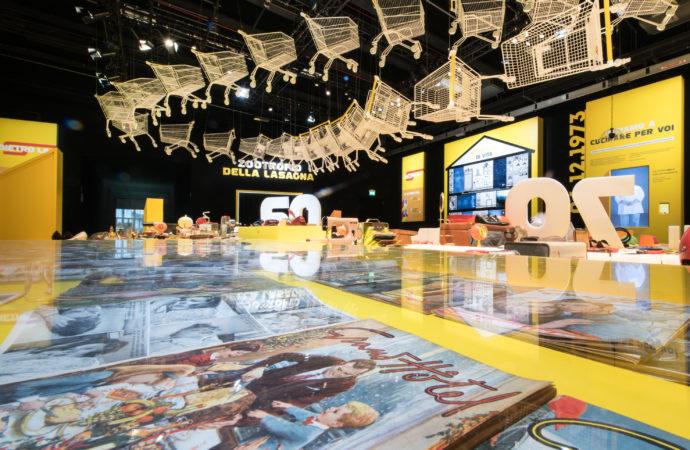 Mostra spettacolo di Esselunga per celebrare i suoi 60 anni