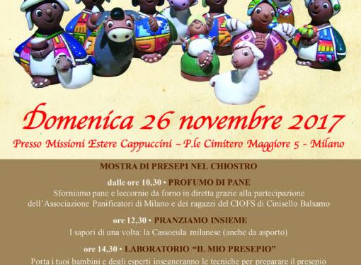 Alla festa natalizia del Centro Missionario dei Frati Cappuccini di Milano