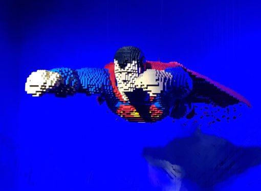 The Art of The Brick – Dc Super Heroes, una mostra imperdibile tra ricordi e arte