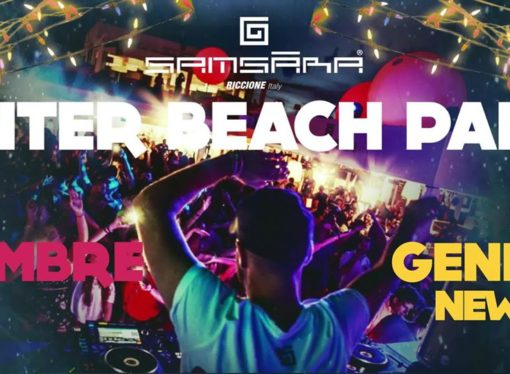 Samsara Beach – Riccione: Winter Beach Party il 26 dicembre 2017 e l'1 gennaio 2018