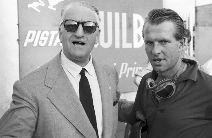 Enzo Ferrari e Collins