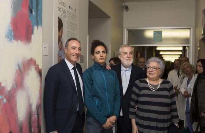 La vita e l'arte vengono alla luce: all'Ospedale San Giuseppe di Milano inaugurata una nuova mostra degli studenti di Brera