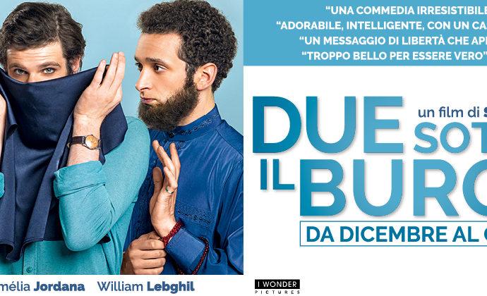 In Sala Biografilm Milano  l'esilarante film  Due sotto il burqa