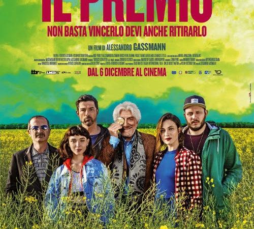 Il Premio, il nuovo film di Alessandro Gassman, nelle sale dal 6 dicembre