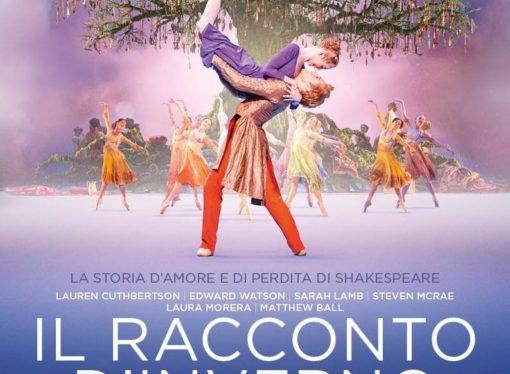 Il balletto Il racconto d'inverno mercoledì 28 febbraio in diretta via satellite  sugli schermi di tutto il mondo