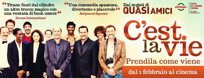 In Sala Biografilm C'est la vie- prendila come viene, la divertente commedia in anteprima al cinema Colosseo-Milano