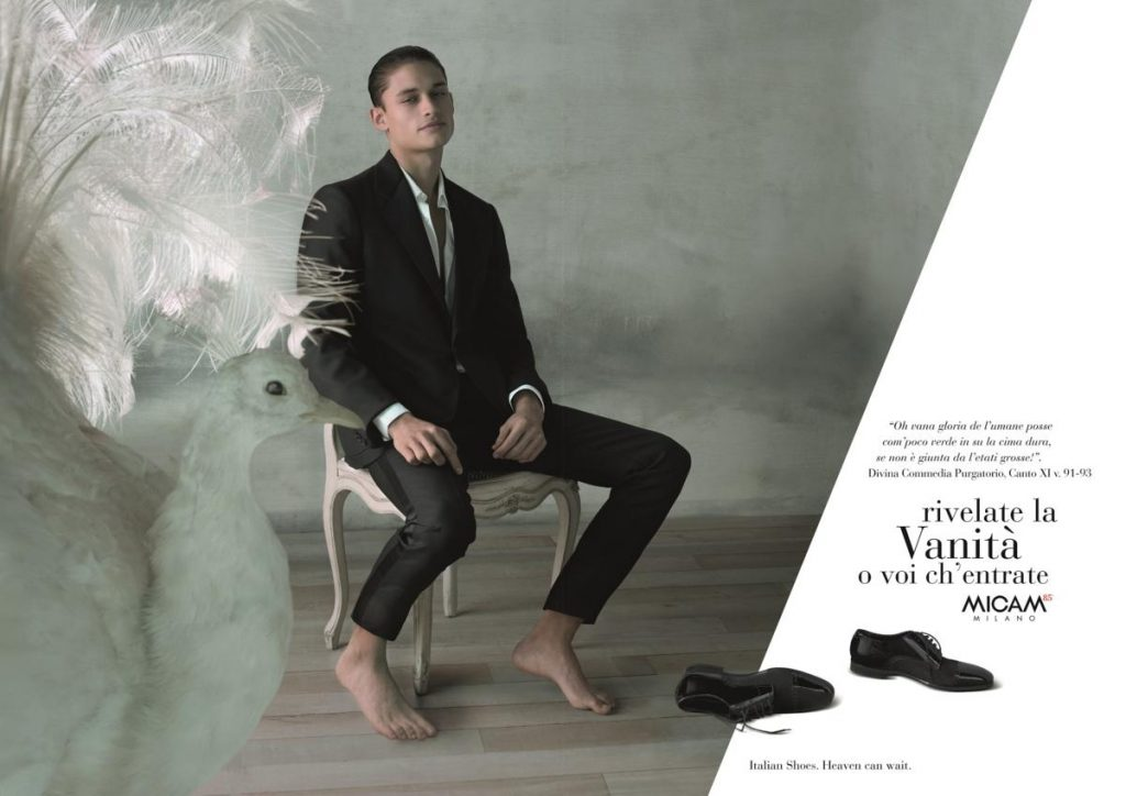 La vanita' ispira l' 85esima edizione 2018 del MICAM